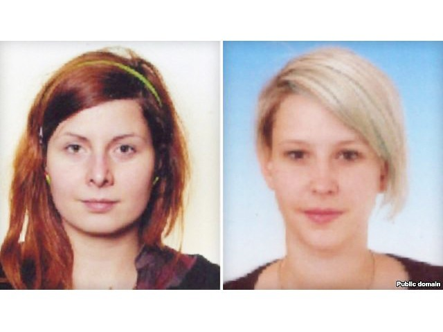 Hana Humpalova a Antonie Chrastecka, the two Czech women kidnapped in Pakistan. PHOTO: PUBLIC DOMAIN