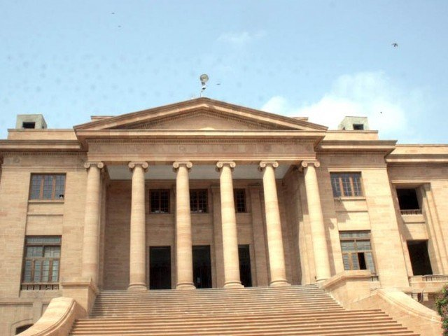 The Sindh High Court (SHC) has been requested to direct a government act against a Pakistani citizen. PHOTO: EXPRESS/FILE