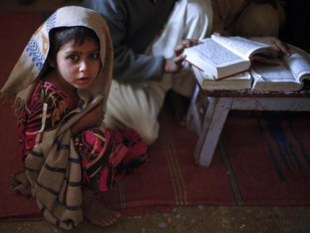 Study shows a literate girl enhances siblings' knowledge. PHOTO: REUTERS