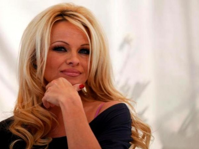 "Former ""Baywatch"" actress Pamela Anderson. PHOTO: REUTERS / FILE"