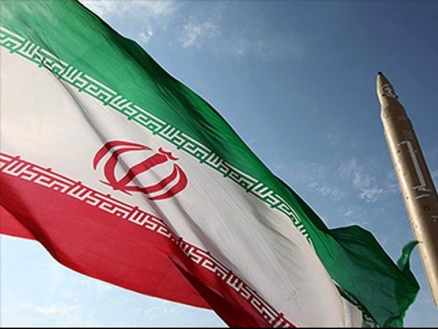 File photo of Irani flag. PHOTO: AFP/ FILE