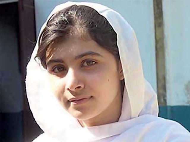 Being popularly termed as 'Malala Day', July 12 will not just mark Malala's 16th birthday but will include global events that support the UN secretary general's Global Education First Initiative. PHOTO: FILE