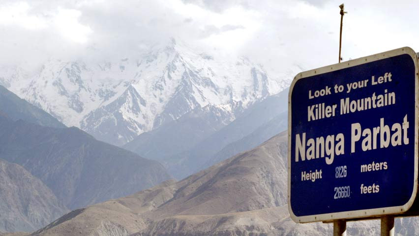 a file photo of the killer mountain nanga parbat photo reuters file