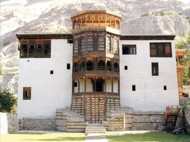The Khaplu palace in Skardu has been restored as a boutique hotel.