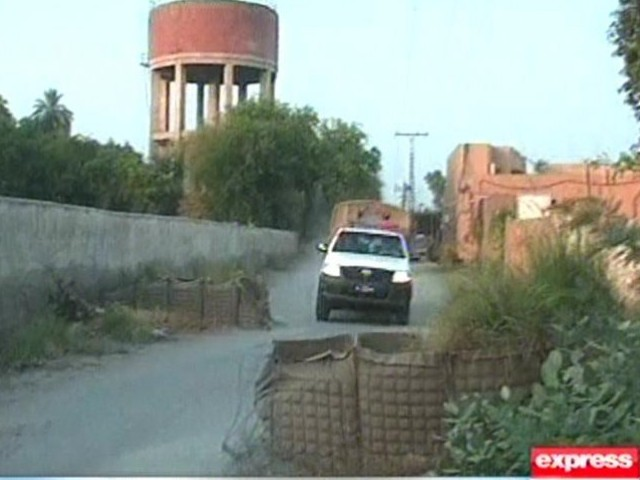 A screengrab of Dera Ismail Khan Police. SCREENGRAB: EXPRESS