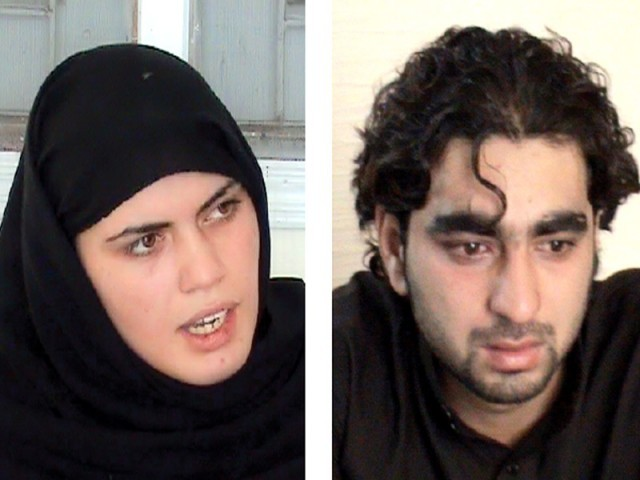 Runaway Afghan couple Maryam and Haiwad's ordeal finally came to an end. PHOTO: EXPRESS/FILE