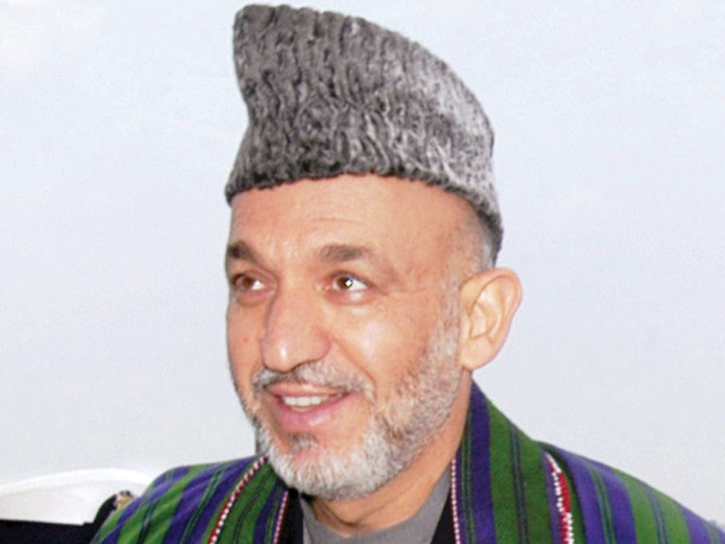 hamid karzai photo file