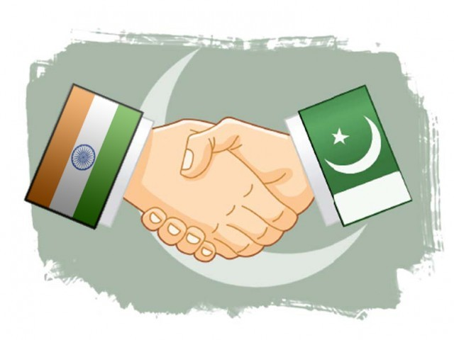 India and Pakistan have fought three wars since independence from Britain in 1947. ILLUSTRATION: JAMAL KHURSHID