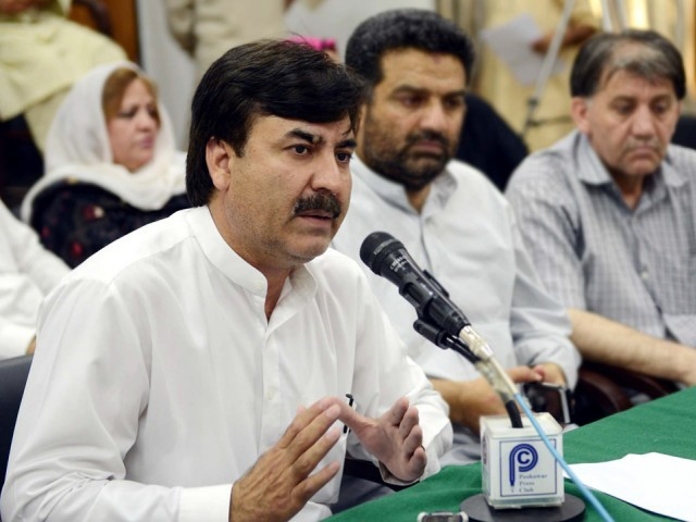 Yousafzai still holds the portfolio of the ministry of health. PHOTO: PPI/FILE