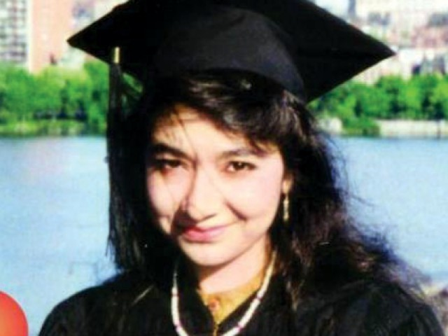 Dr Aafia Siddiqui was convicted in a US court on terror charges. PHOTO: FILE