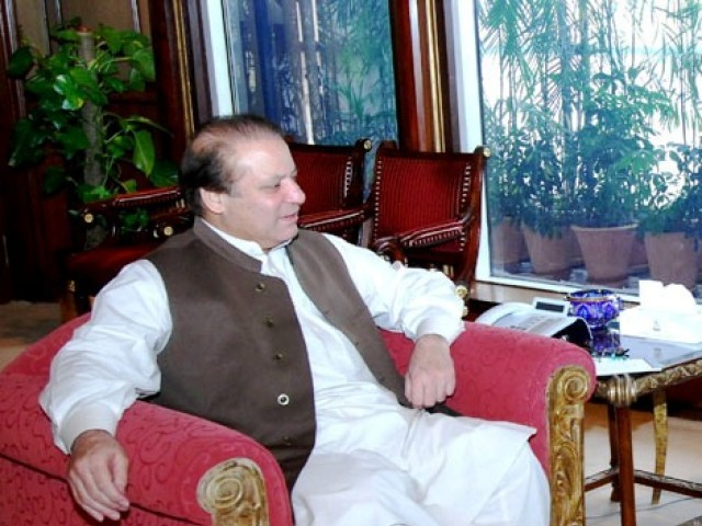 Prime Minister Nawaz Sharif. PHOTO: PID/FILE