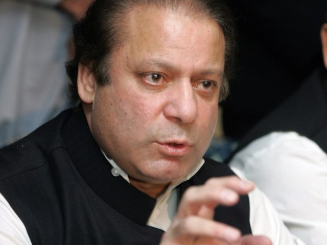 Nawaz directed concerned departments to maintain close liaison with the provincial governments for a coordinated response to flood situation. PHOTO: FILE