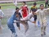 larkana-rain-children-photo-app