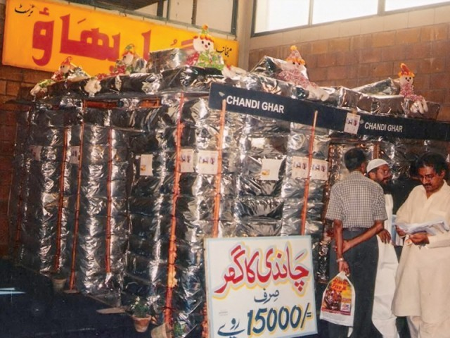 Gulbahao Trust initially produced silver blocks from recycled waste material but now they are introducing lightweight prefabricated blocks for flood disasters. PHOTO: COURTESY GULBAHAO