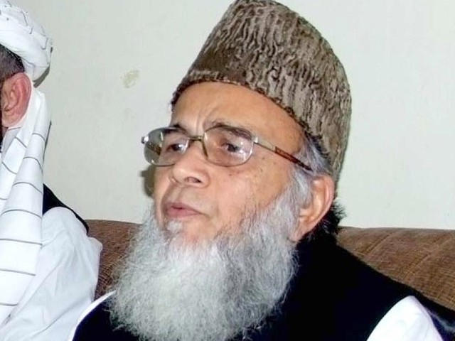 Jamaat-e-Islami (JI) chief Munawar Hasan.  PHOTO: INP/ FILE