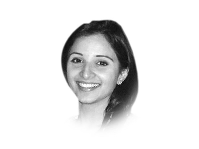 The writer is a senior sub-editor on the editorial pages of The Express Tribune  ayesha.azhar@tribune.com.pk