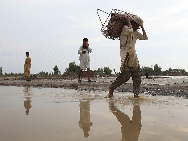 Quoting the figures of National Disaster Management Authority (NDMA), Haleem Adil Shaikh said at least 95 per cent of the affected people have remained largely unattended. PHOTO: REUTERS/FILE