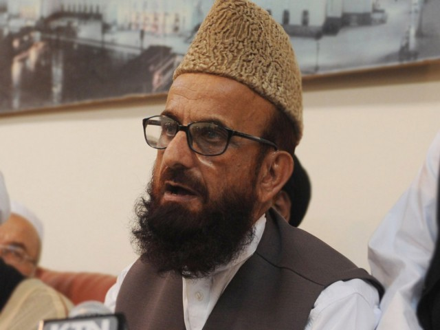 "Mufiti Rehman alleges that Ahmadis are involved in ""suspicious activities"" and ""serious measures"" are needed against them. PHOTO: AFP/FILE"
