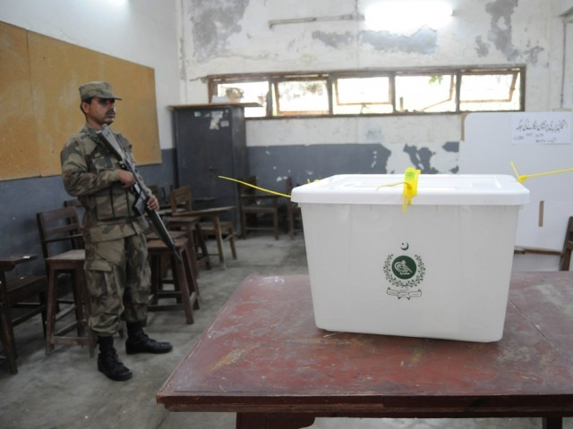 No other party besides APML fielded candidates for the by-elections scheduled to be held next month. PHOTO: EXPRESS/FILE