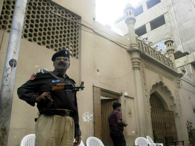 Sections 298-B and 298-C of the Pakistan Penal Code outlaw Ahmadis from calling their place of worship a masjid, claiming to be Muslims or preaching their faith to others.  PHOTO: EXPRESS/FILE
