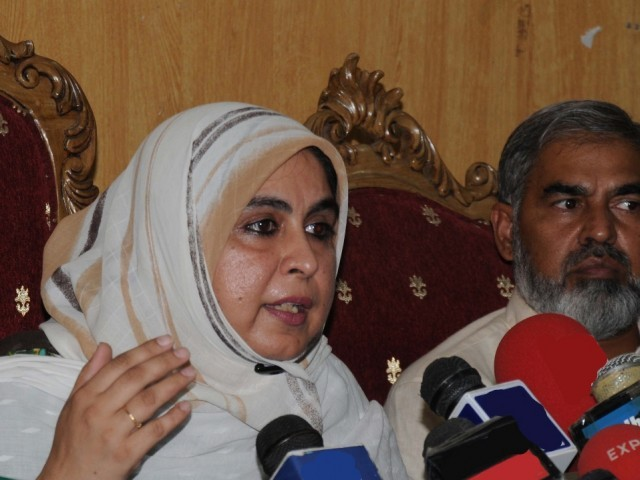Masood Janjua's wife notes contradictory statements from military officials about her husband's fate. PHOTO: FILE