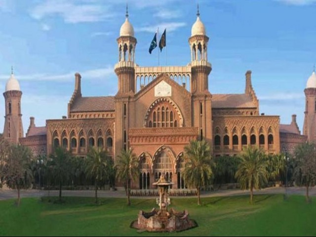Lahore High Court PHOTO: lhc.gov.pk