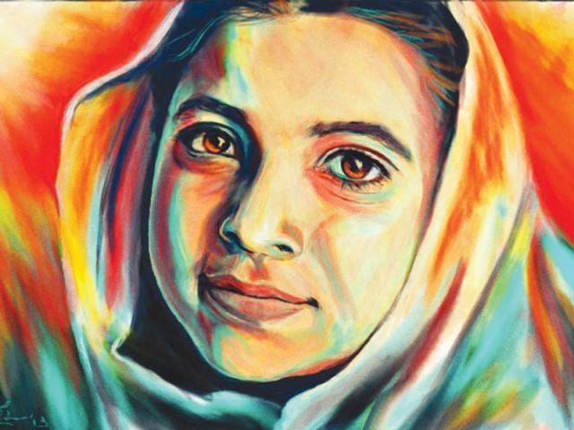 """The film  focuses and explores how the failure to silence Malala has inspired men, women, and children, not only in Swat Valley but beyond the borders of Pakistan,"" said the director. PHOTO: OMAR GILANI"