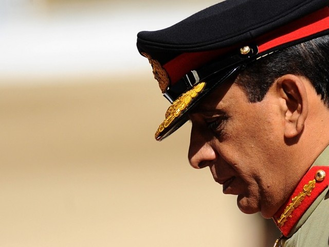 Chief of Army Staff General Ashfaq Parvez Kayani. PHOTO: AFP