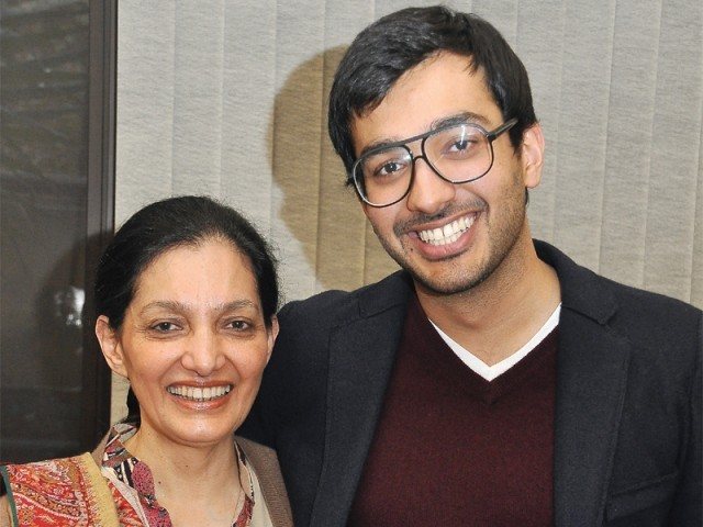 Seema, the brains behind Bareeze, with her son Zain. PHOTO: PUBLICITY