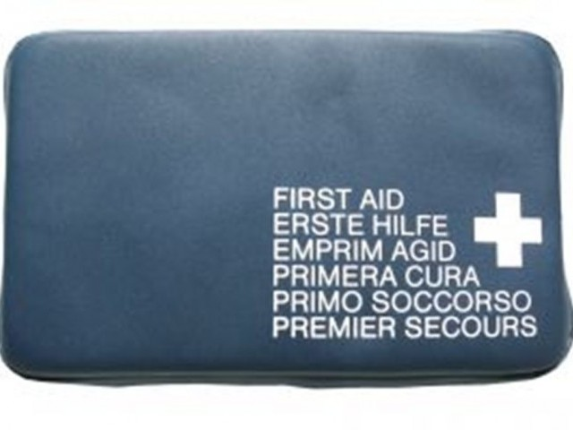 First aid kit. PHOTO: FILE