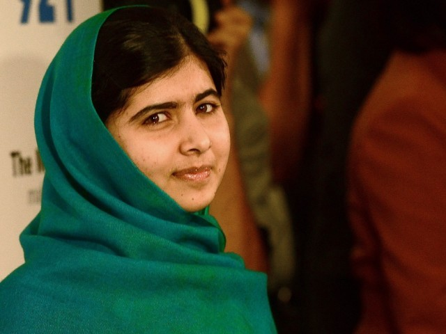 Malala Yousufzai. PHOTO: AFP