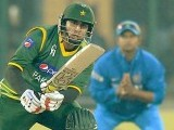 An old photo taken during a Pakistan vs India match in New Delhi. PHOTO : BCCI