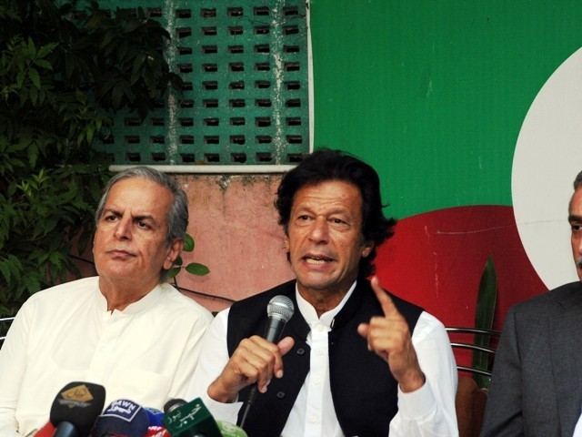 We will block flow of Nato supplies through K-P: Imran Khan