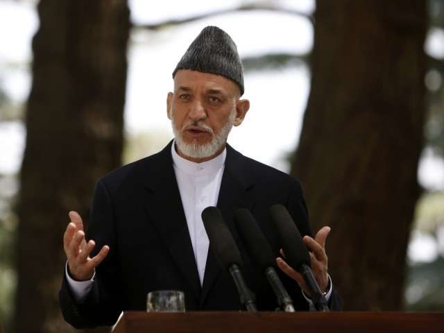 Afghanistan Preisdent Hamid Karzai. PHOTO: REUTERS