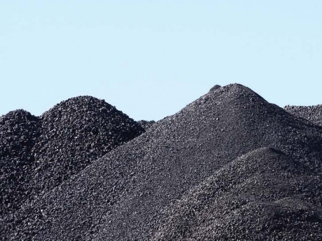 184b tons, are the estimated reserves of coal in Sindh. PHOTO: FILE