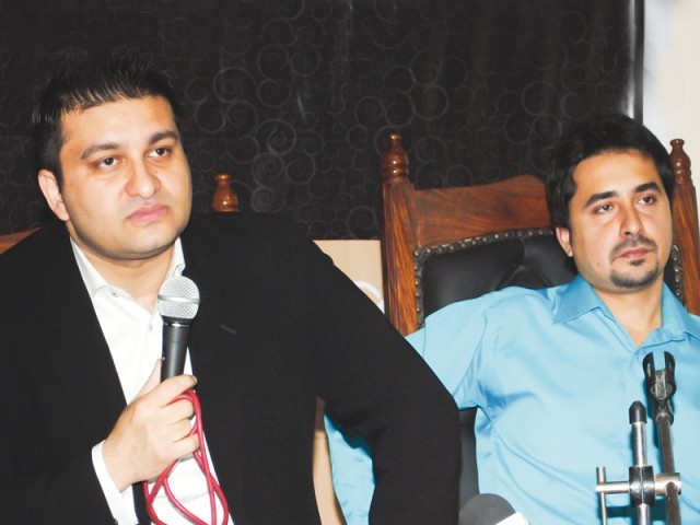 Abbas Hashmi (left) revealed that 35 entries have been submitted so far. PHOTOS: PUBLICITY