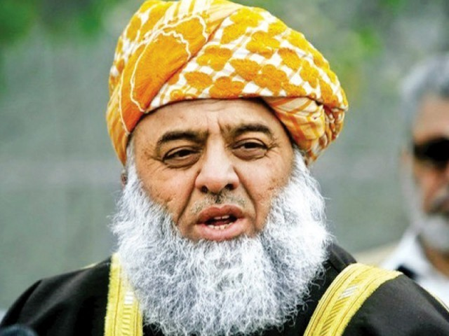 JUI-F Chief Fazlur Rehman. PHOTO: FILE