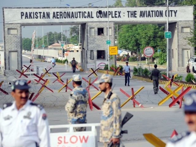 Photo file Pakistan Aeronautical Complex Kamra. PHOTO: AFP