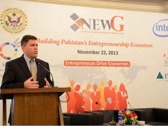 """Entrepreneurism, particularly the creation of new small and medium size businesses, is the driver of economic growth,"" says  termed entrepreneurship the driver of economy. PHOTO: NNI"