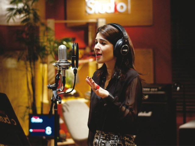 Ayesha Omar gives a classic a Barbie-like twist, ruining the whole song. PHOTOS: PUBLICITY