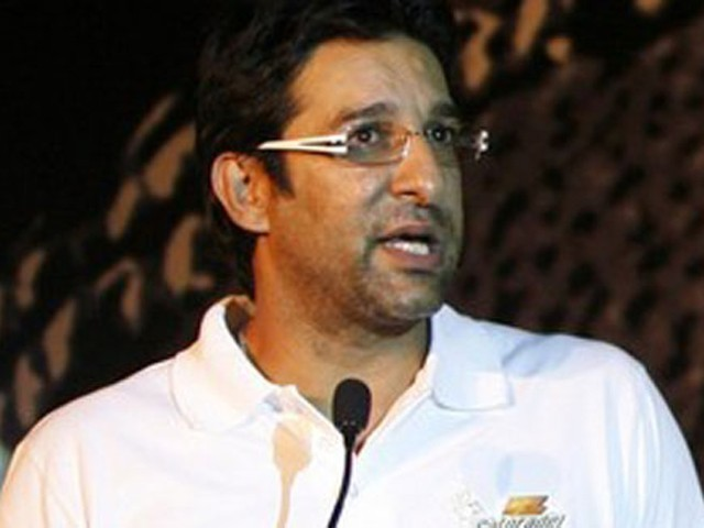 File photo of Wasim Akram. PHOTO: REUTERS/FILE
