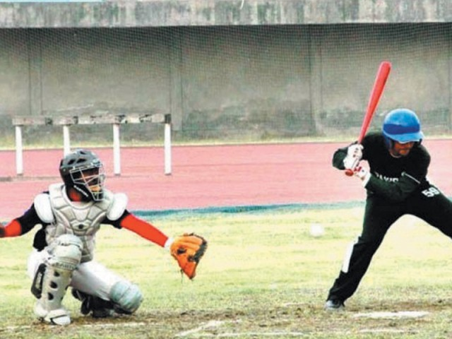 The tournament is being hosted by the Pakistan Federation Baseball (PFB) in collaboration with the Punjab government.  PHOTO: APP/FILE