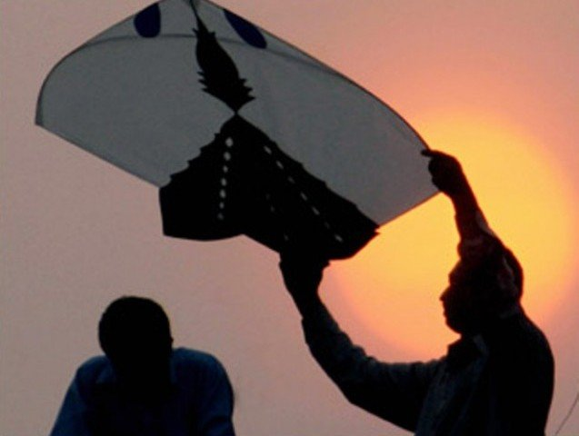 The basant is due to be held in Changa Manga forest park and Jallo park, Lahore.PHOTO: AFP/FILE
