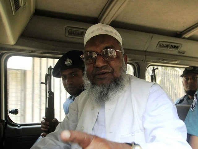 Jamaat-e-Islami leader Abdul Quader Molla. PHOTO: REUTERS/FILE