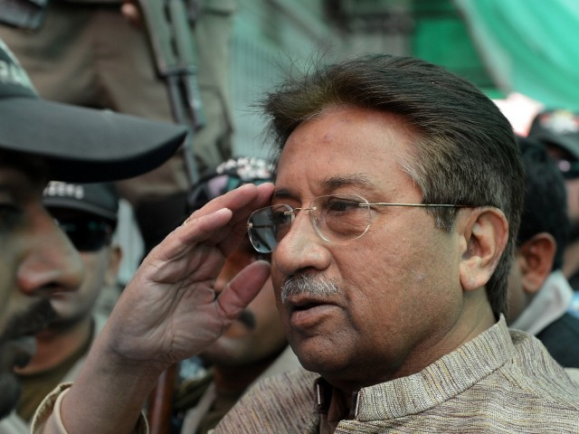 Former president Pervez Musharraf. PHOTO: REUTERS