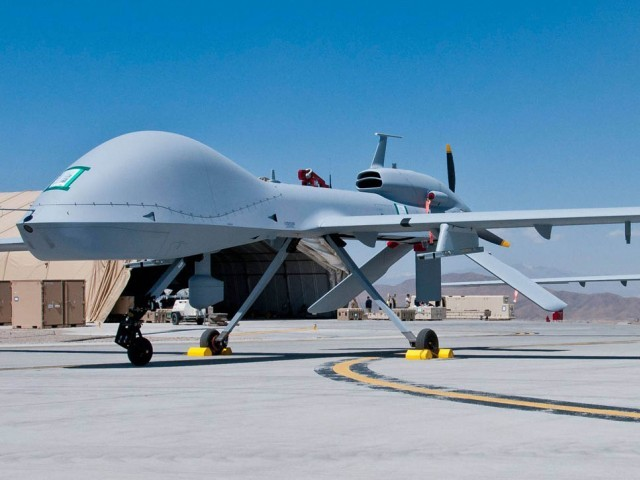 File photo of a drone. PHOTO: AFP/FILE