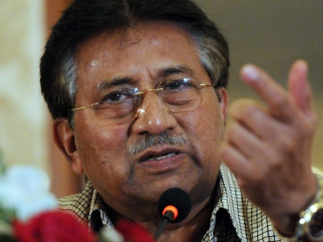 Former president Pervez Musharraf. PHOTO: AFP
