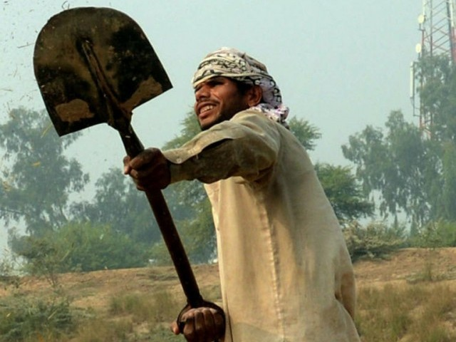 File photo of a Pakistani villager. PHOTO: FILE