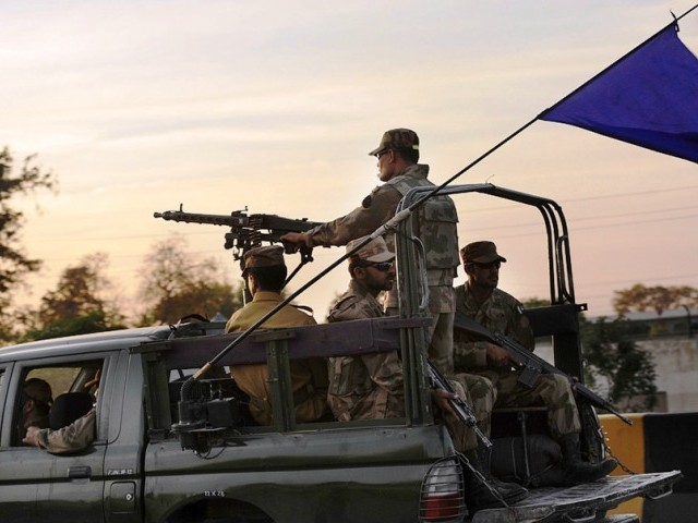The recent move by the government to promulgate the Protection of Pakistan Ordinance is meant to provide a legal cover to the security agencies for the targeted operation. PHOTO: AFP/FILE