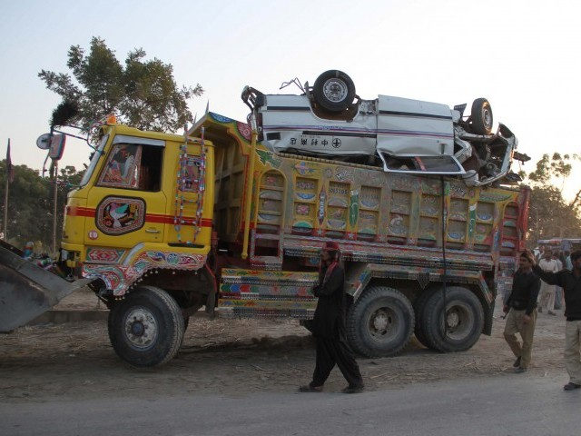 Posthumous happenings: 9 victims of Nawabshah van tragedy
